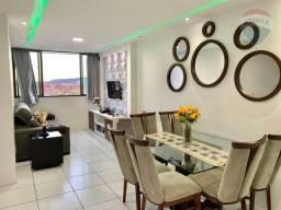 Apartamento 02 quartos sendo 01 suíte no Athenas Residence - Maurício de Nassau