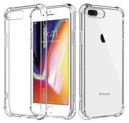 Capinha Capa Silicone Anti-Choque iPhone 7 Plus ou 8 Plus