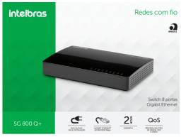 Switch 8 Portas Gigabit da Intelbras 10/100/1000mpbs