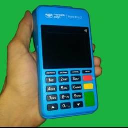 Máquina de cartão que Imprime completa da mercadopago