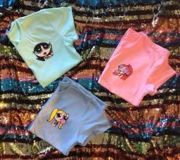 Tshirts disponíveis