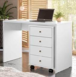 Escrivaninha com Gaveteiro Presence Branco - nova na caixa lacrada