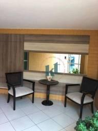 Apartamento com 1 dormitório à venda, 38 m² por R$ 260.000 - Cabo Branco - João Pessoa/PB