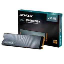 SSD Adata Swordfish, 250GB, M.2 PCIe, Leituras: 1800MB/s