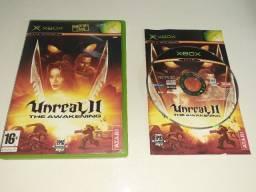 Unreal 2 The Awakening Xbox Clássico Europeu Com Manual