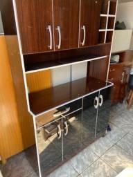 Armário de cozinha preto!