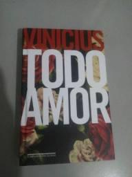 Livro Todo Amor de Vinicius de Moraes ilustrado Cia das Letras