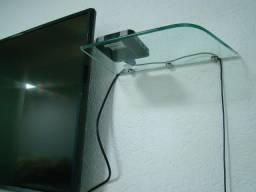 Título do anúncio: Aparador em Vidro incolor lapidado 8 m/m de espessura Temperado