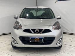 Nissan March SL 1.6 2015   ipva 2021   com garantia
