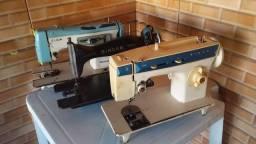 Máquina costura pra retirar peças
