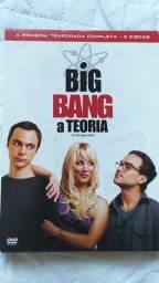 Dvds The Big Bang Theory Primeira e Segunda Temporada