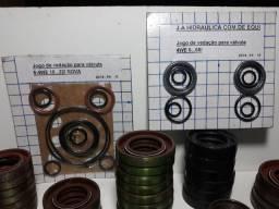Kit de Reparos em Viton Para Bombas e Cabeçote Hidráulicos.