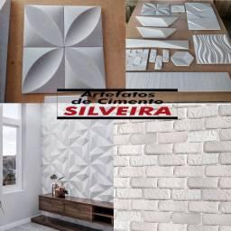 Placa 3D / revestimento de parede de cimento/ área interna e externa