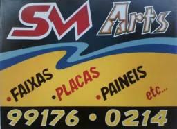 SM arts Pintor profissional