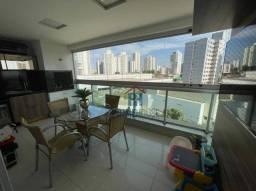 Apartamento com 3 suítes à venda - Edifício Absolutto - atrás do Hotel Gran Odara - 156 m²