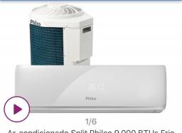 Ar condicionado split Philco - 9000 btus