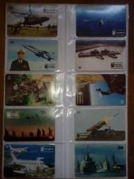 Mais de 200 Cartões com Classificadores de Plastico / Diversas Séries