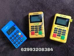 Maquinas de cartão pagseguro e mercado pago