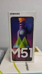 Samsung galaxy M 51 preto 128 GB