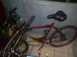 Título do anúncio: Bicicleta aro 26 aceito trocas em notebook em bom estado para estudo