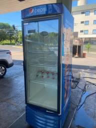 Vendo refrigerador vertical com porta de vidro metalfrio