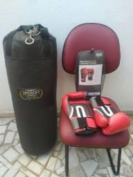 Boxe - Luvas - Saco de Pancada - KIT