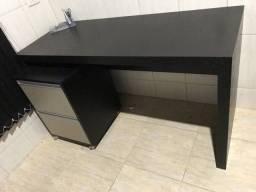 Título do anúncio: Mesa escritório com gaveteiro/fichário