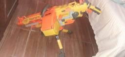 Título do anúncio: Arma Nerf vulcan Ebf-25.