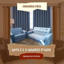 Título do anúncio: Sofá D'luxo 2 e 3 lugares