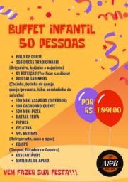 Buffet Infantil (Sem Decoração)