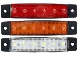 LED Carro Moto Caminhão Caretinha 2Pçs Forte Ip66 Adaptável 12v