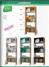 Título do anúncio: Livreiro com nichos, por apenas R$349