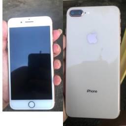 iPhone 8 Plus 64 gb , iCloud livre e sem marcas de uso .