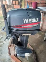 Motor yamaha 25hp usado poucas vezes