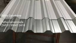 Título do anúncio: Telha zinco Atacado (acima 150 m2) -  metalons ot preço z@p 3199592.1222 galvanizada(lume)