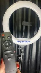 Ring Light 36cm com controle