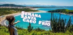 Pacote feriado semana santa em Cabo Frio