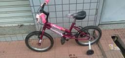 Bicicleta Barbie Aro 16 LEIA