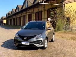 Toyota Etios 1.5 X-Plus HB AT 2020 - Único Dono - Baixa Km