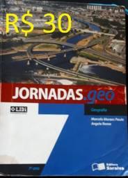Livro Jornadas.geo. Geografia. 7º Ano - R$ 30
