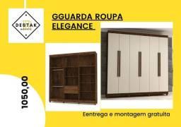 Guarda-Roupas Elegance, FRETE GRÁTIS Guarda-Roupas 6 Portas