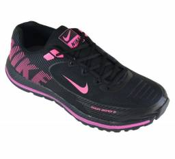 Tênis Nike Preto e Rosa (Frete Gratis)