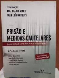LIVRO: PRISÃO E MEDIDAS CAUTELARES (Leia)
