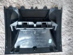 Moldura do Relógio e Computador de Bordo do Painel do Renault Megane 2008 Original
