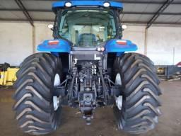 New Holland T7 205 - 2015 - Trator Extras - (Único dono)