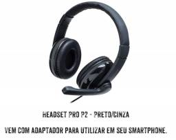 Headset com adaptador - últimas unidades