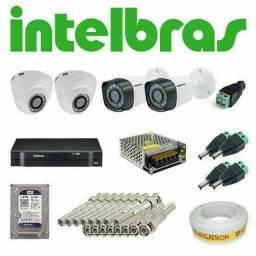 Título do anúncio: Sistema de segurança Intelbras instalada