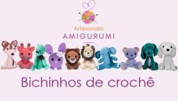 Artesanato Curso de Amigurumi - Bichinhos de crochê