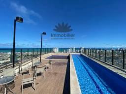 Flat Qt e Sala Mobiliado no Beach Class Excelsior no Pina. Andar Alto.