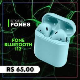 Fone bluetooth i12